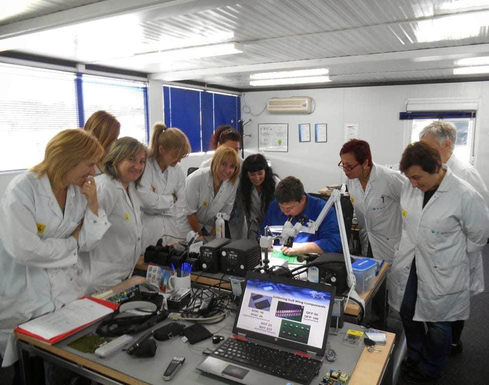 Kwaliteits en Acceptatiecriteria voor gesoldeerde elektrische en elektronische printplaten training en certificering