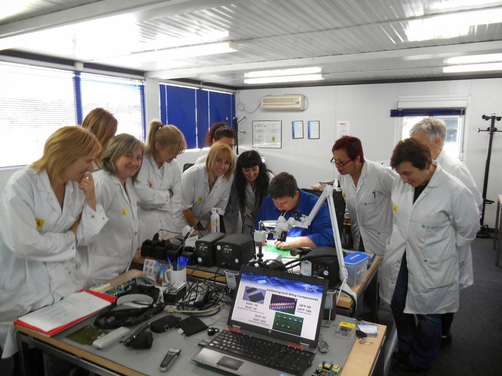 Quality criteria for soldered electrical and electronic assemblies training and certification