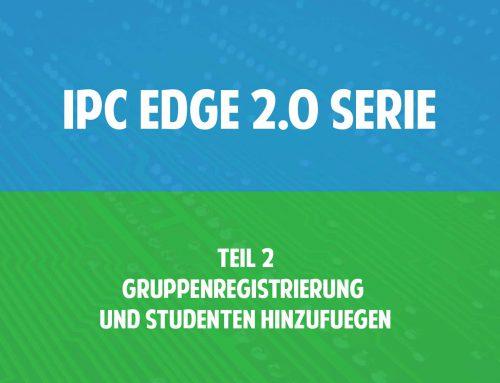 Video: IPC Edge 2.0 Serie Teil 2 – Gruppenregistrierung und Studenten hinzufügen