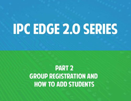 Video: IPC Edge 2.0 series Part 2 – Group registration and how to add students