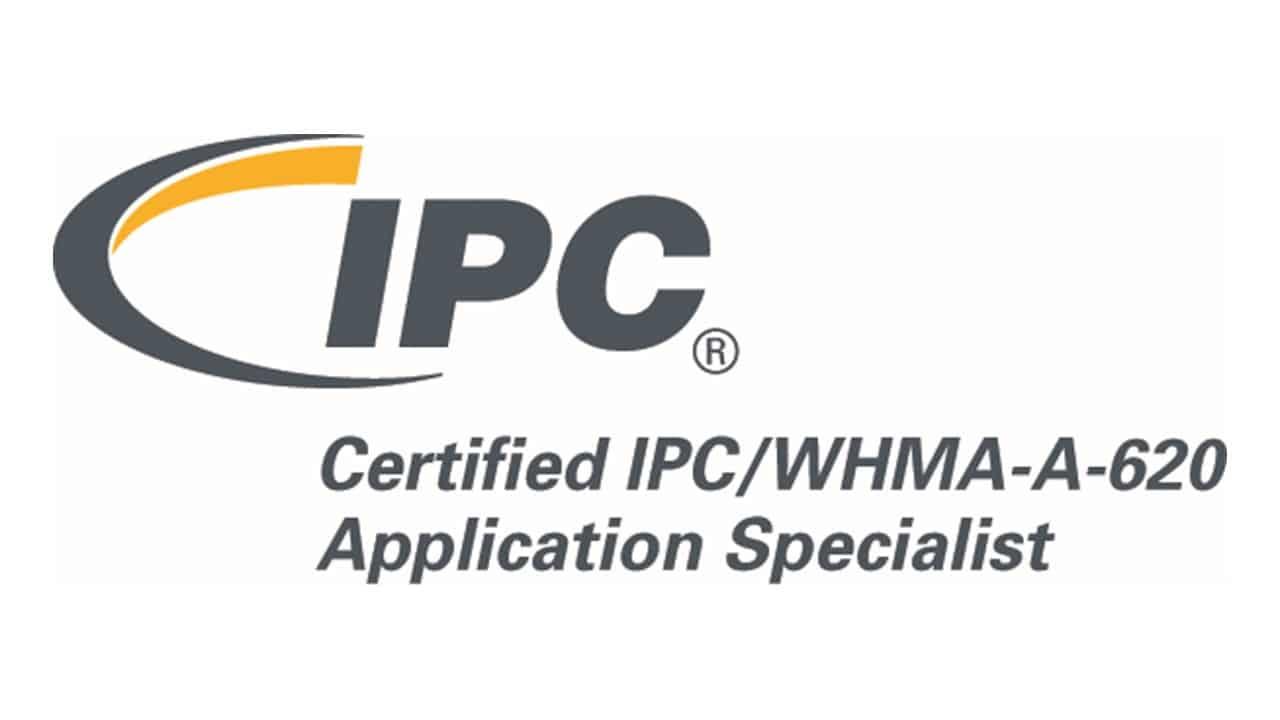IPC/WHMA-A-620 Application Specialist logo