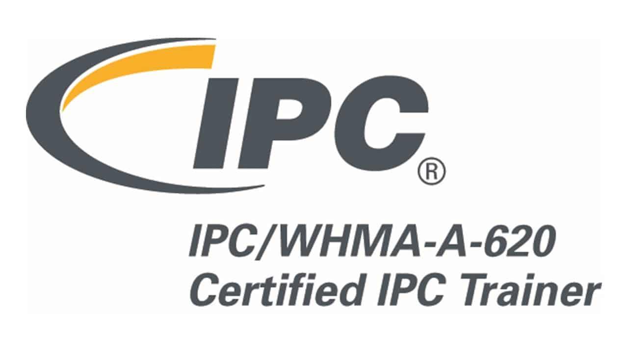 IPC/WHMA-A-620 Certified IPC Trainer logo