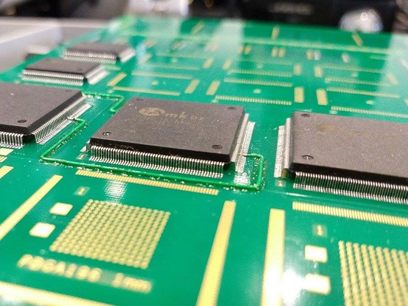 Modification of a circuitboard