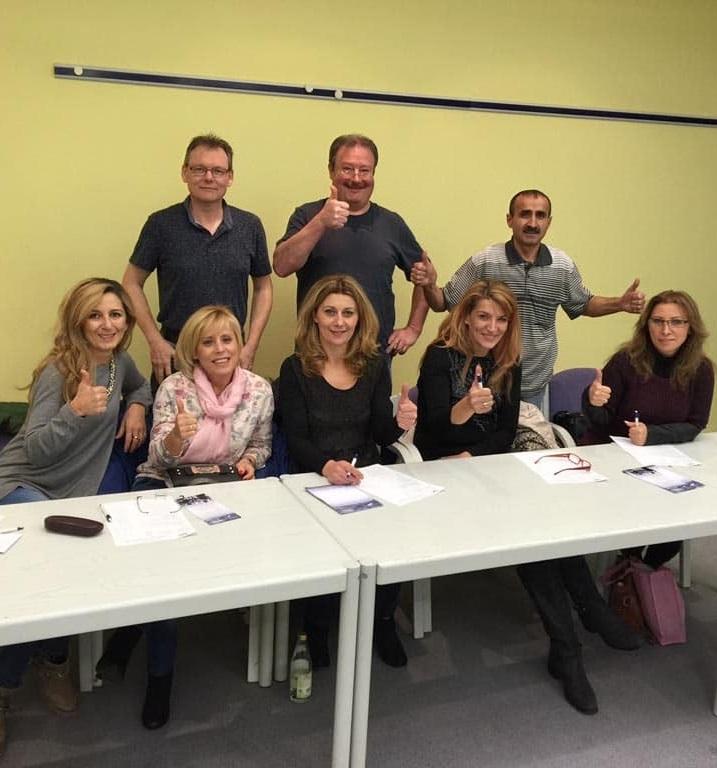 Seminar Gruppenbild bei PIEK