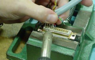Terminal solderen