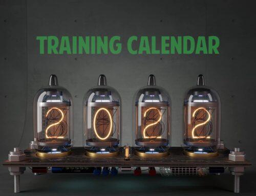 Training calendar 2022