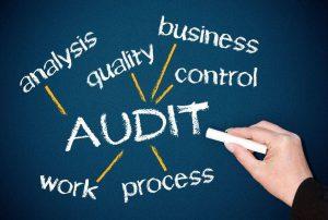 Audit in de elektronica producerende industrie