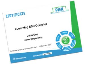 elearning certificate