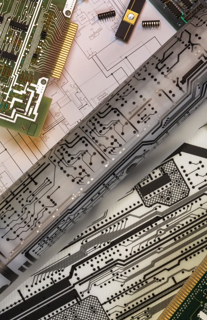 Electronics design of printed circuit boards