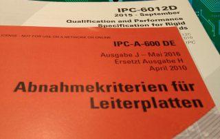 IPC-A-600 tegen de IPC-6012 Standaard