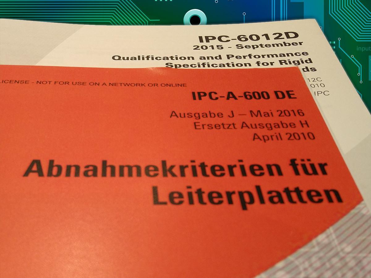 IPC-A-600 gegen IPC-6012 Standard