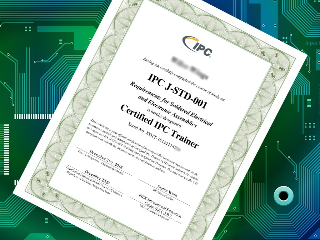 Three reasons why your employees should do IPC certification courses