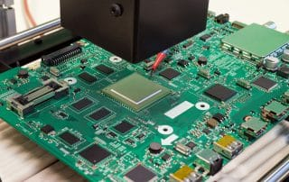 Rework station, BGA chip replacement