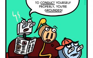 PIEK Power Cartoon