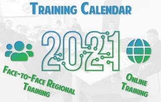 Training calendar 2021