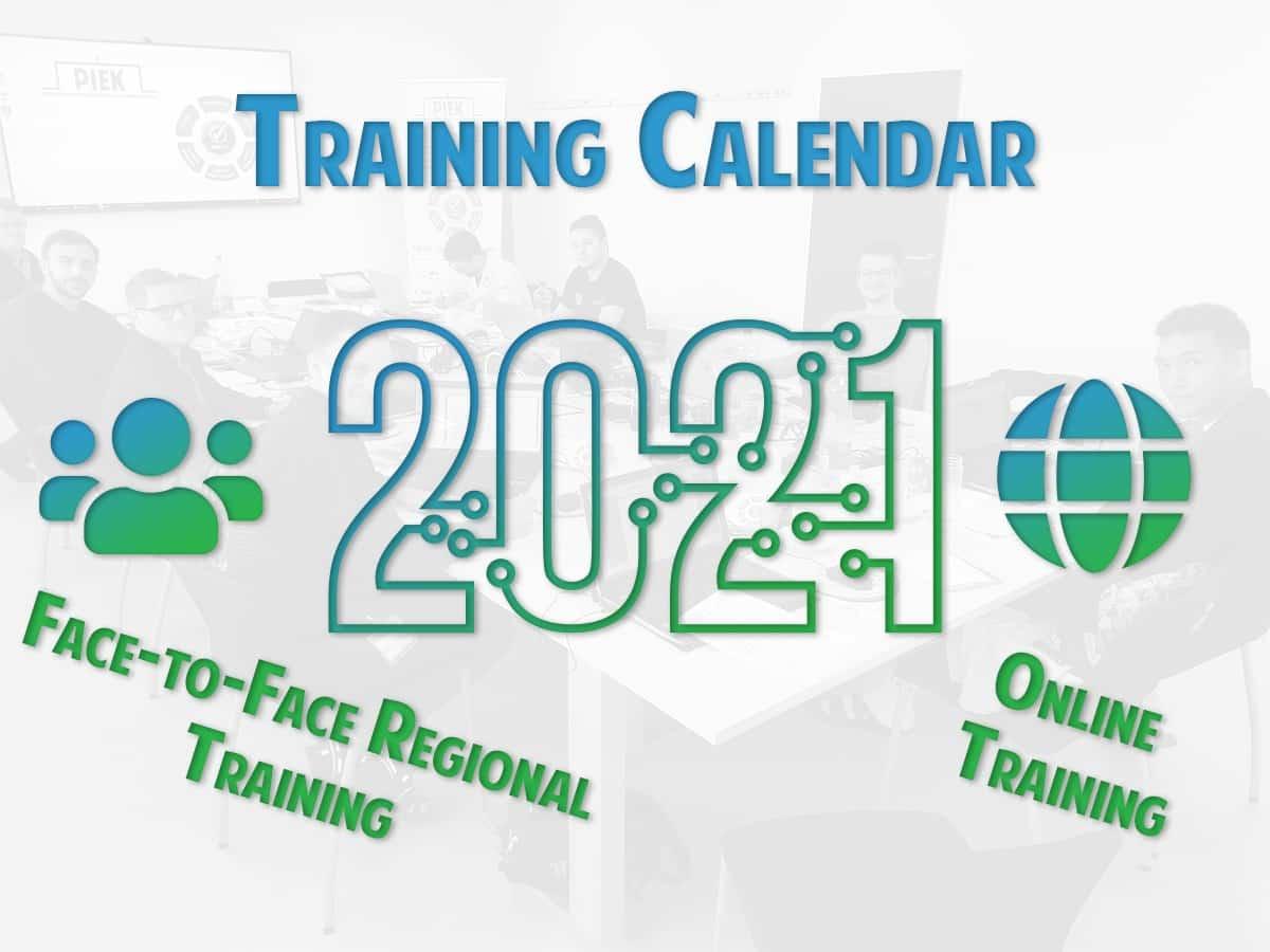 Schulungskalender 2021